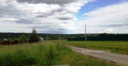 Участок в деревне 25 соток, свет, подъезд, Заокский район, 100 км от МКАД