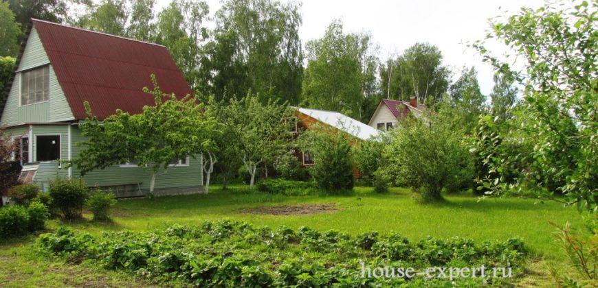 Продаётся дача в Заокском районе 105 км по Симферопольскому шоссе, 12 соток, свет, подъезд