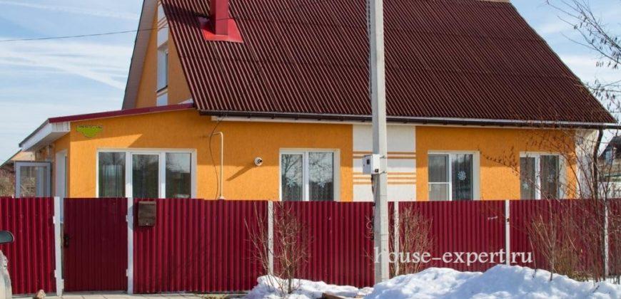 Дом 220 кв.м. в центре посёлка Заокский, уч., 9.5 соток, все коммуникации.