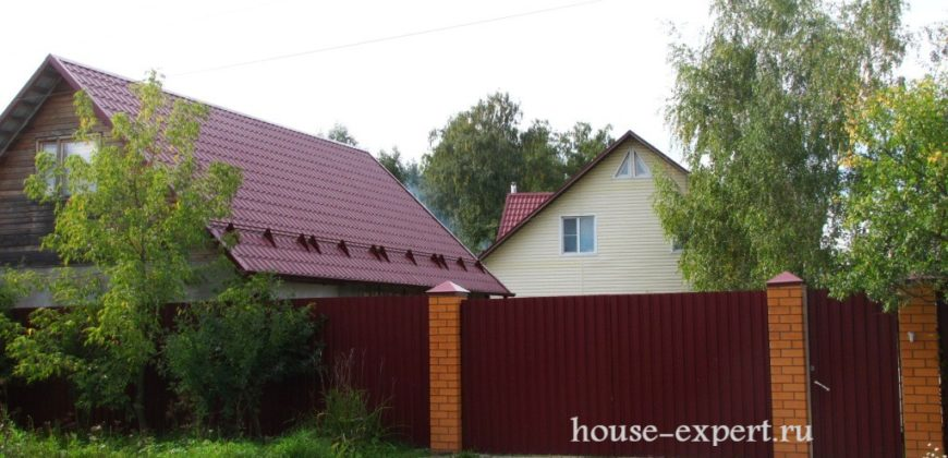 Усадьба 240 кв.м. на участке 1 гектар, все коммуникации 100 км от МКАД. Заокский