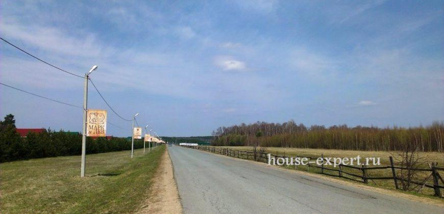Участок в деревне Заокского раона 15 соток Свет газ подъезд электричка