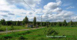 Участок в деревне Заокского района 15 соток Свет газ подъезд электричка