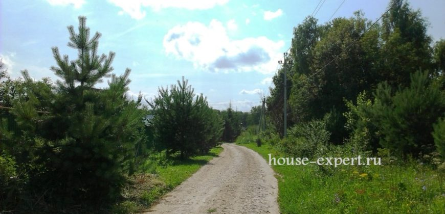Участок 12 соток в Заокском посёлке, Симферопольское шоссе 100 км от МКАД