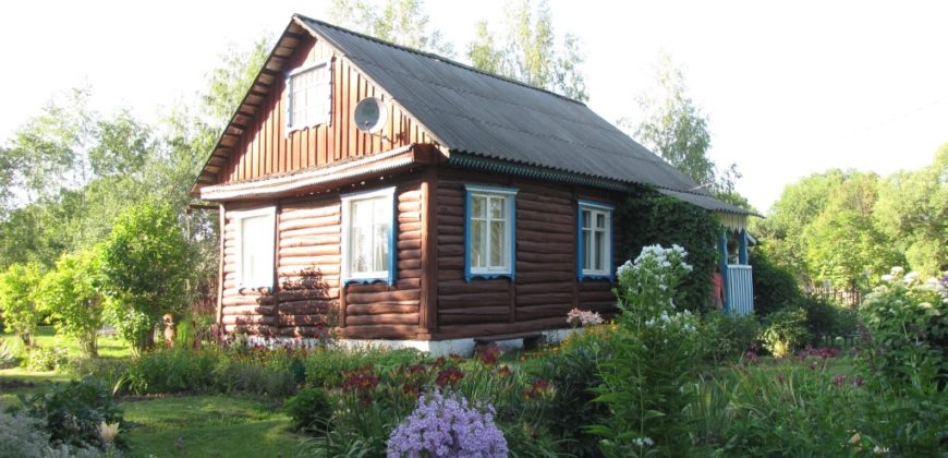 Дом в деревне 52 кв.м., 40 соток, электричество, колодец, баня, электричка.