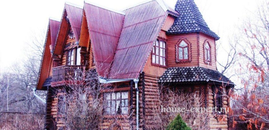 Дом в посёлке Заокский, Тульская область, 100 км от МКАД