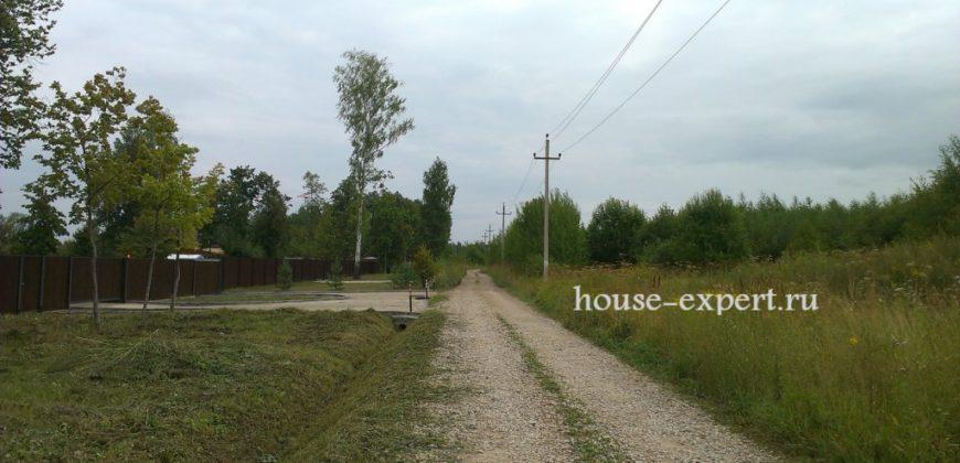 Крайний участок 18 соток, д. Гибкино 100 км от МКАД Симферопольское шоссе