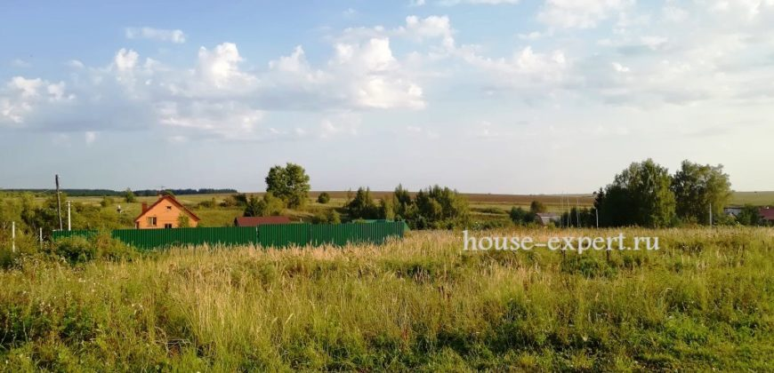 Участок в деревне, Заокский район, Острецово Тульской области