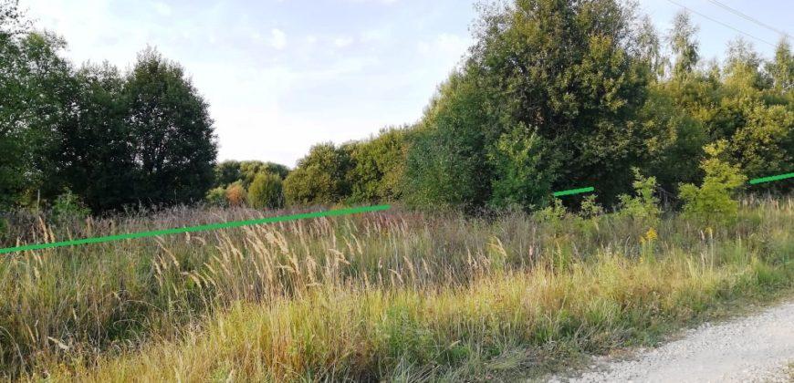 Продаётся участок 70 соток в деревне Горохово, Заокский район