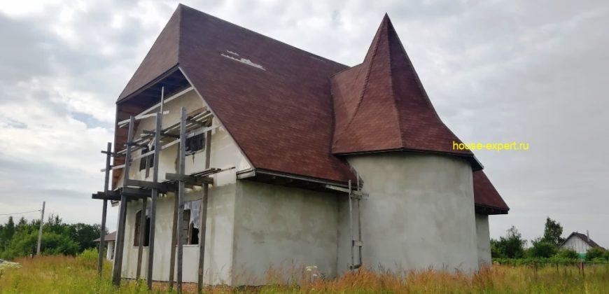 Дом 180 м2 на участке 12 соток, в пос. Заокском, 100 км. от МКАД, Симферопольское шоссе, Тульская область.