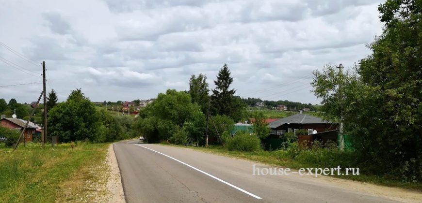 Участок 10 соток. Нечаевские Выселки, Заокский район, свет, подъезд.