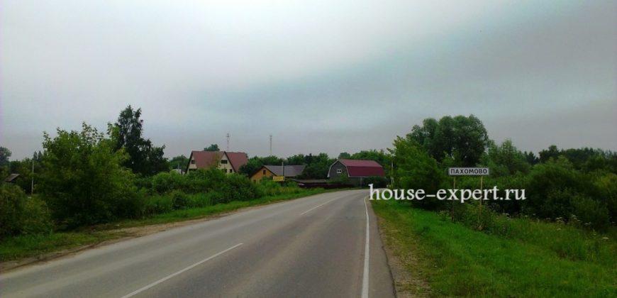 Участок 35 сот в тихой деревне Клищино