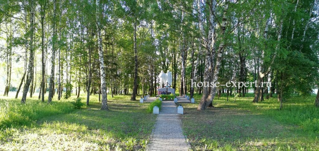 Симоново, паметник Победы, Тульская область