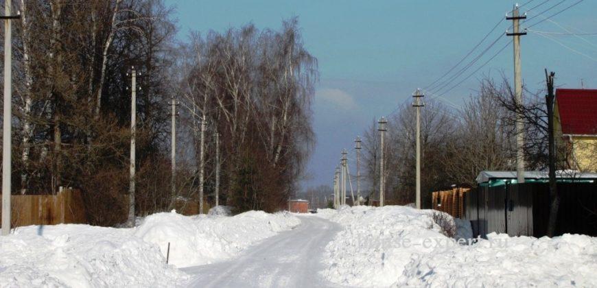 Участок 15 сот. Свет, газ, водопровод в Пахомово, Заокского района