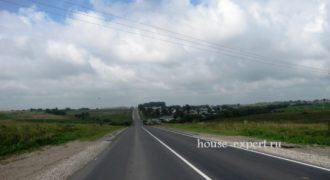 Участок 1 гектар, земли населённых пунктов, ЛПХ в деревне, Заокского района, свет, подъезд.