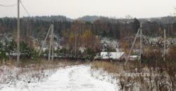 Дачный участок 62 сотки граничит с лесом, Изумрудная Долина.