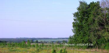 Участок КФХ в деревне Яковлево, Заокского района, асфальтированный подъезд.