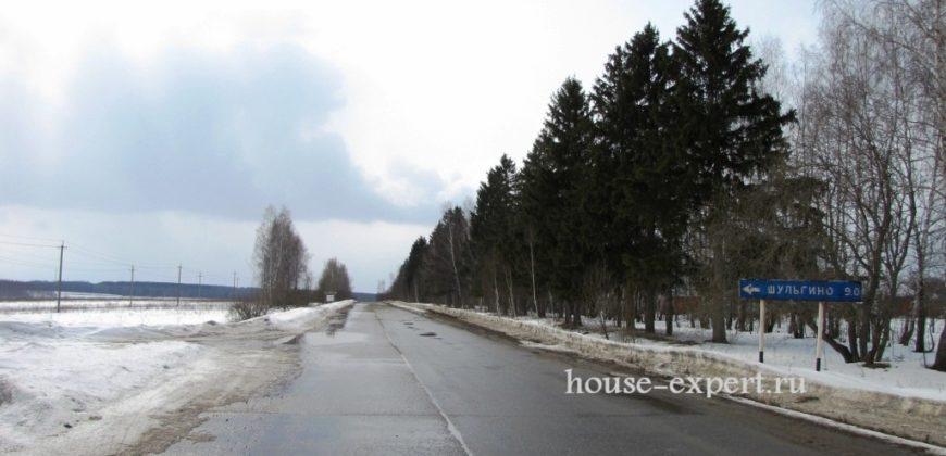 Участок ЛПХ в деревне Шеверняево, Заокский район, купить