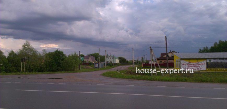 Участок в деревне рядом с Заокским. Примыкает к лесу, свет, подъезд