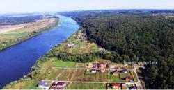 Дачные участки на берегу реки, 110 км от МКАД по Каширскому шоссе.