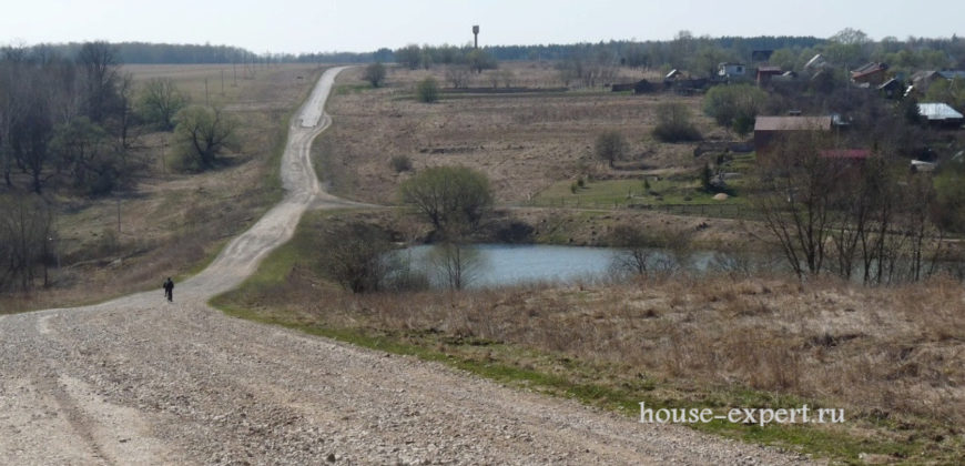 Продам участок 5.5 Гектар, к лесу и ручью, Тульская область, деревня Сотино