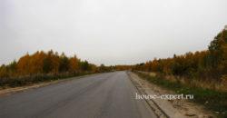 Участок ЛПХ 19 соток, асфальтированный подъезд к деревне.