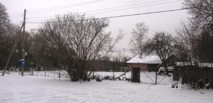 Дом в деревне на участке 24 сотки в 115 км от МКАД по Симферопольскому шоссе в Заокском районе.