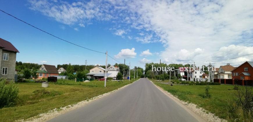 Участок 12 соток в Заокском с коммуникациями, фундамент, подъезд.