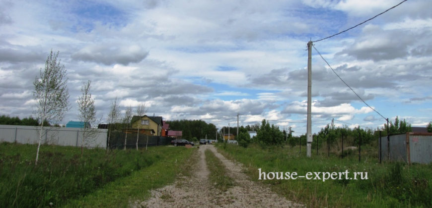 Участок 9.5 соток в жилом посёлке, Заокский Тульская область.