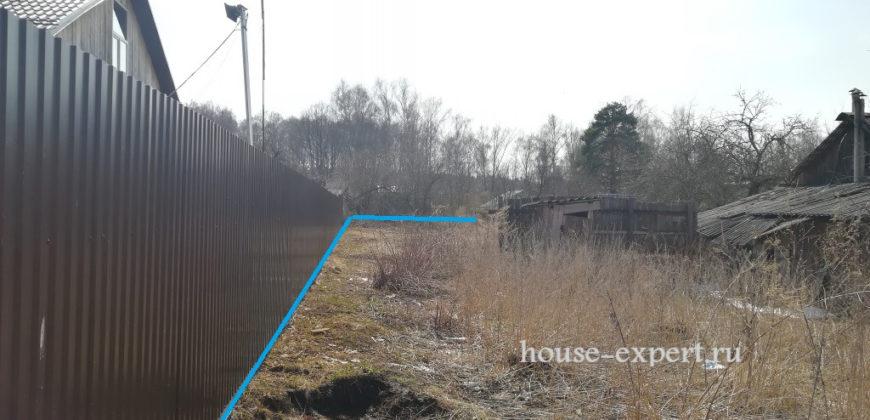 Участок с коммуникациями, свет, газ, посёлок Бутиково в 5 км от Заокского.