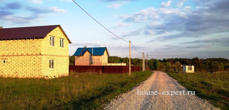 Блочный дом 120 кв.м. посёлок Темьянский, Заокский район. Свет, подъезд.