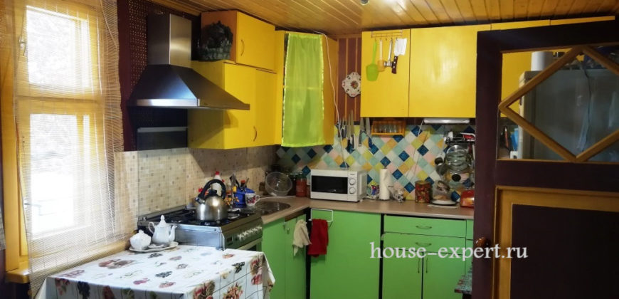 Часть дома в деревне Новосёлки, Тульская область.