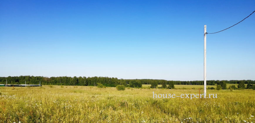 Заокский район, Симоново, участок 14 соток, подъезд, электричество.