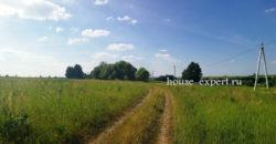Участок в тихой и маленькой деревне Заокского района,