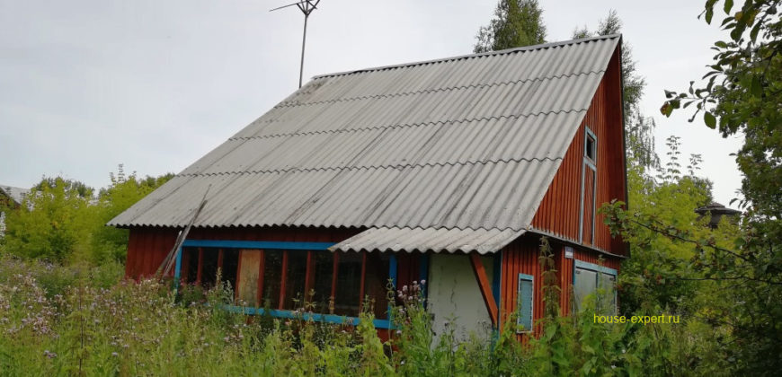 Дом в посёлке Пахомово, все коммуникации, асфальтированный подъезд, электричка