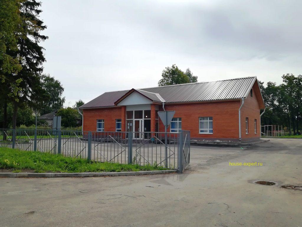 дом культуры в посёлке Пахомово, Заокский район