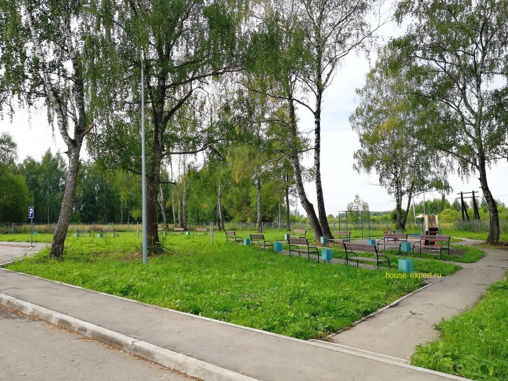 парк дом культуры Заокский район, Пахомово
