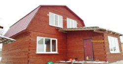 В продаже два дома, 220 кв.м., Свет, газ подъезд, электричка. Заокский район