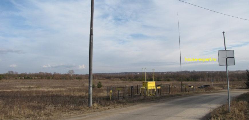 Участки на берегу Оки, в дер. Дракино Московской области, все коммуникации.
