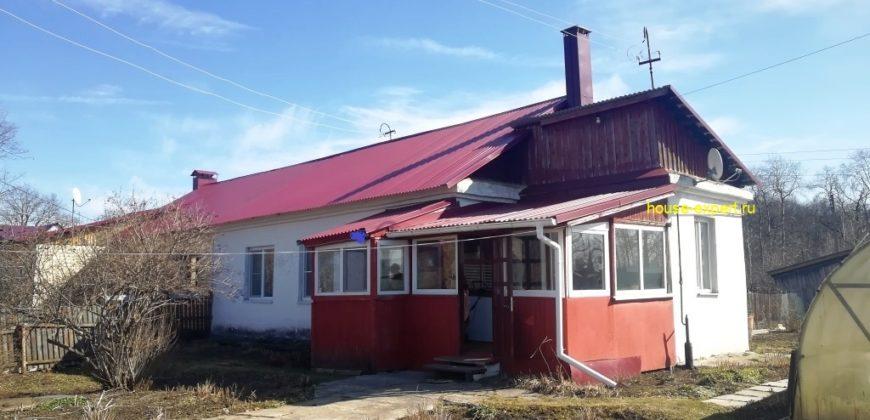 Часть дома 55 кв.м в центре рп. Заокский, все коммуникации