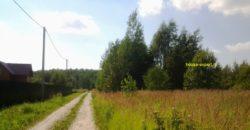 Участок 10 соток в СНТ Ивушка, Заокский район, электричество, подъезд.
