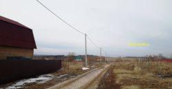 Участок в деревне, крайний у ручья Заокский рн, 105 км от МКАД