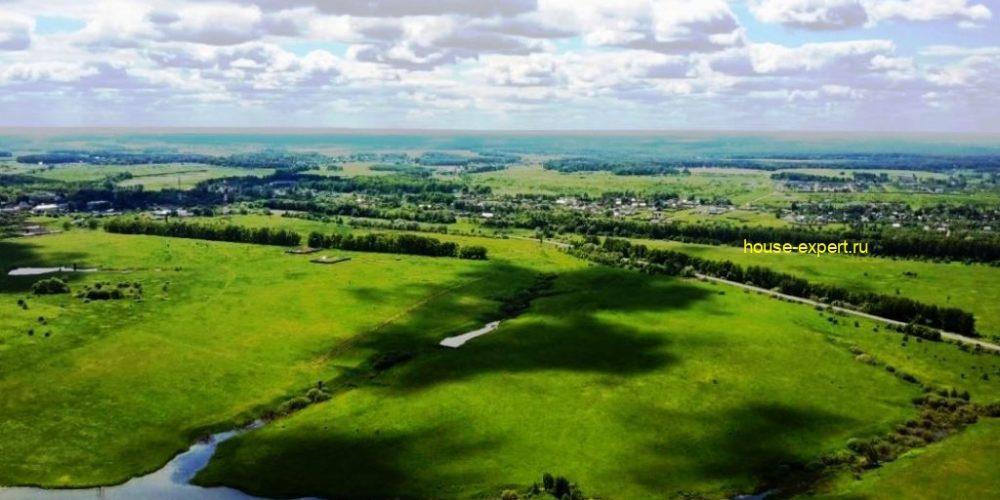 Участки ИЖС в посёлке, в 120 км от МКАД электричка Ж/Д ст. Пахомово