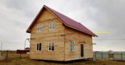 Дом из бруса на участке 12 соток, электричество 15 кВт подключено.