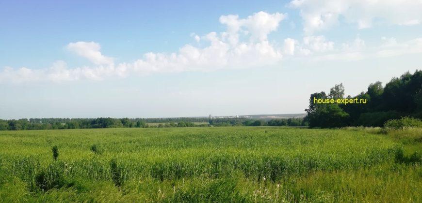 Сельхоз земли от 8 Гектар, удобный подъезд, примыкает к деревне.