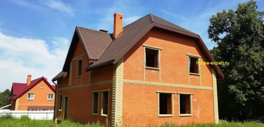 Кирпичный дом 260 кв.м., в Заокском районе, 100 км от МКАД