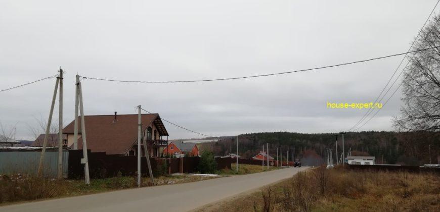 Участок с домом 80 кв.м асфальтированный подъезд, Заокский район