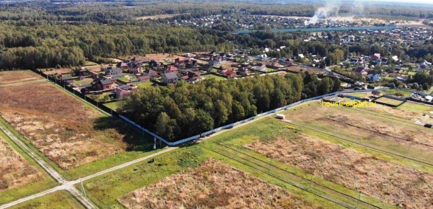 Дачный участок 10 соток, в деревне Манишки, Московская область