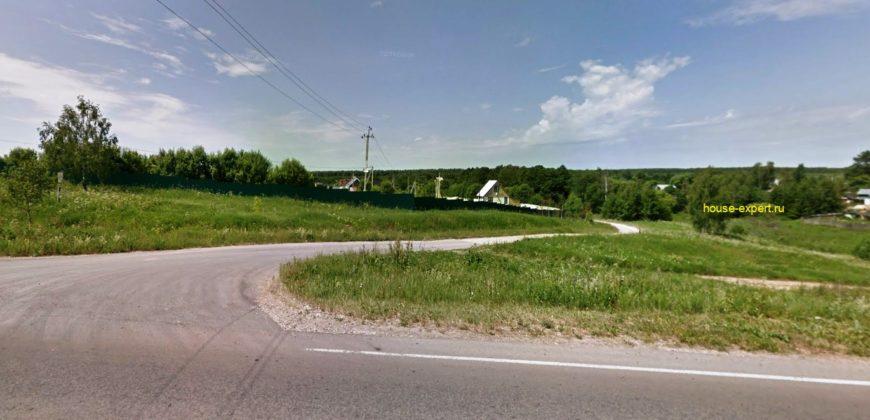 Участок 15 соток рядом с прудом в деревне Венюково, Заокский район