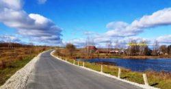 Участок 8 соток с постройками в СНТ Заокского района в 125 км от МКАД.