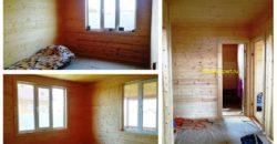 Жилой дом 80 кв.м, свет вода, асфальтированный подъезд.